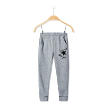 安踏童装运动裤女童 新款保暖加绒加厚卫裤运动休闲长裤童裤