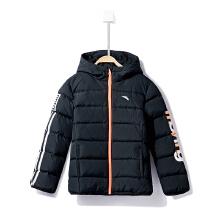 安踏童装羽绒服女童 冬季新款加厚保暖轻薄中大儿童羽绒夹克外套