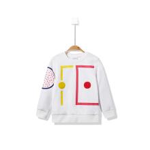 安踏童装女童卫衣春季新款针织运动卫衣防风保暖中童儿童卫衣