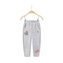 安踏童装女童运动裤 春季新款小童小学生休闲舒适儿童运动裤