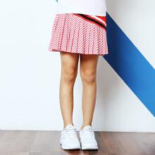 安踏童装女童中大儿童时尚梭织运动短裙童装裙子女