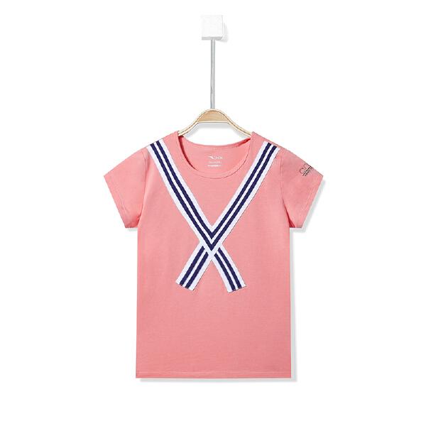 安踏儿童 女童短袖针织衫-36827143