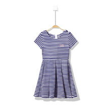 安踏童装女童连衣裙 新款儿童女中大童短袖可爱洋气连衣裙女