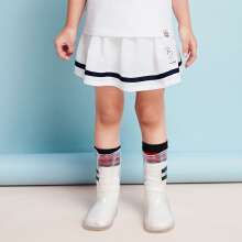 安踏儿童2019新款女小童梭织短裙