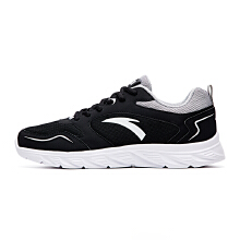 男鞋跑步鞋秋冬新款皮革网面跑鞋