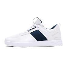 男鞋板鞋新款防滑耐磨拼接白色休闲鞋学生潮滑板鞋运动板鞋男