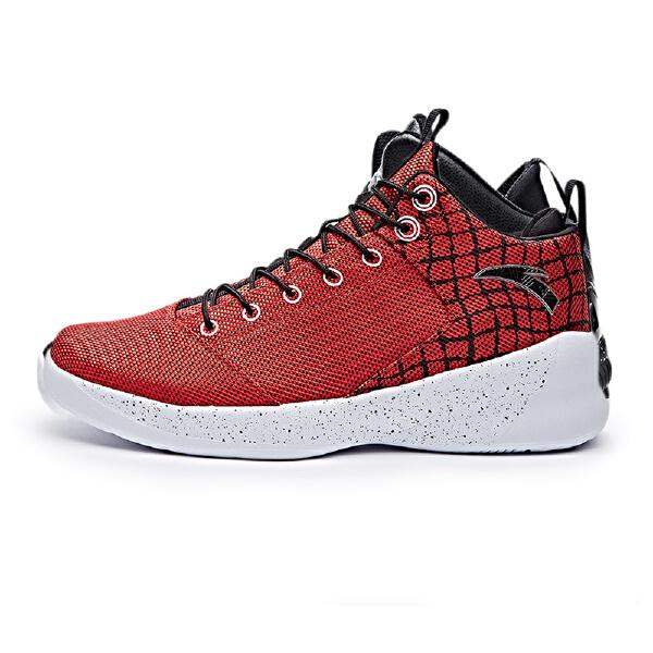 安踏 篮球系列 男子耐磨减震篮球鞋-91711309