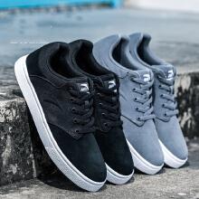 板鞋男鞋新款低帮耐磨板鞋运动鞋休闲鞋反绒皮滑板鞋男