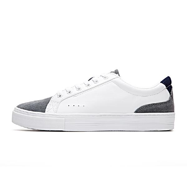 安踏 生活系列 男子休闲风格帆布鞋-91748990