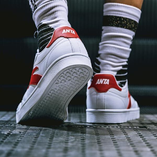 安踏 生活系列 男子板鞋-91838002