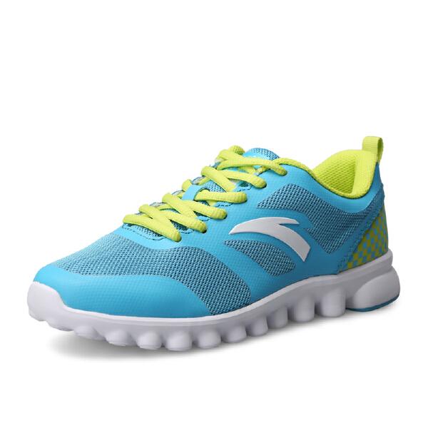 安踏 跑步系列 女子轻质柔软缓震透气防臭跑鞋-92515511