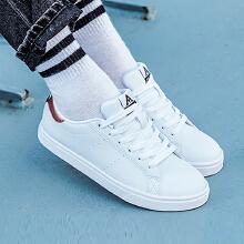 板鞋女鞋新款学生时尚潮流白色休闲滑板鞋休闲鞋绿尾小白鞋女