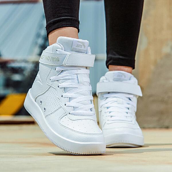 安踏 生活系列 女子双密度板鞋-92748060