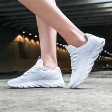 女鞋运动鞋春季新款减震轻便休闲跑步鞋正品附近跑鞋