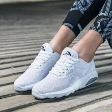 女鞋春季新款半掌气垫运动休闲鞋舒适网面缓震女跑步鞋女