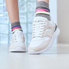 安踏女子时尚复古休闲鞋熊猫鞋黑色运动鞋学生潮鞋
