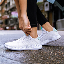 安踏女子019夏季女子轻便跑鞋运动鞋跑鞋休闲鞋潮流时尚