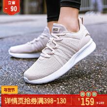 安踏女子2019夏季新款休闲鞋女子轻便跑鞋旅游鞋透气运动鞋