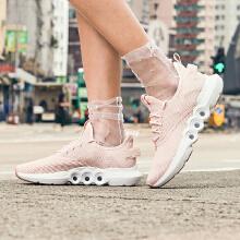 安踏女子2019年夏季新款透气能量环跑鞋轻便休闲女子跑步鞋