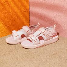 安踏女子2019新款夏季平底仙女 沙滩凉鞋