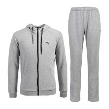套装男子秋冬新款舒适长袖跑步运动套装运动服男装外套 裤子