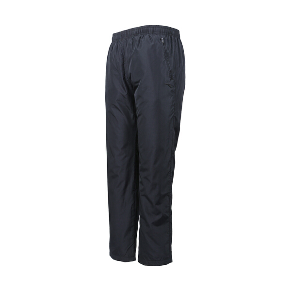 安踏 篮球系列 男子防风保暖篮球运动丝光绒长裤-95541552