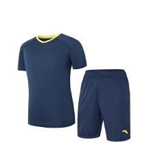 足球运动套装2019春夏季新款专业足球套健身运动短装两件套男