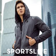 外套男子春季新款休闲运动防风跑步训练夹克上衣