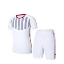 健身套装2019春夏季新款舒适专业跑步比赛服足球运动套装男