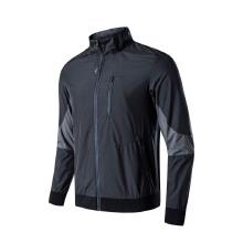 男装外套2019春季新款立领简约风衣外套开衫运动夹克