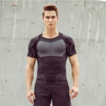 健身衣2019春夏季新款跑步健身运动紧身衣弹力速干T恤短袖