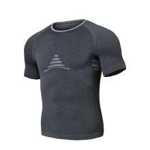 健身服舒适新款短袖跑步训练服紧身衣休闲运动透气T恤