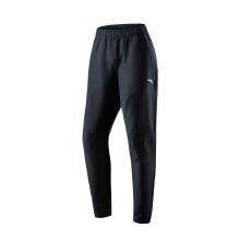 男裤冬季新款梭织加绒保暖舒适黑色裤子休闲运动长裤