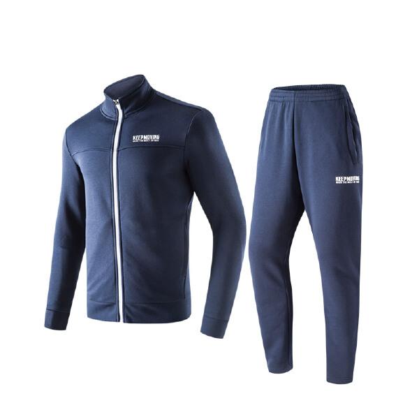 安踏 综训系列 男子针织运动套-95747725