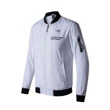 单夹克外套男2019春夏季新款休闲开衫飞行员夹克运动外套
