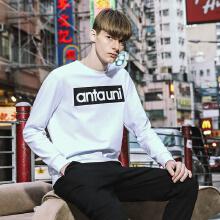 卫衣男2019春季新款字母潮时尚保暖学生长袖运动套头卫衣