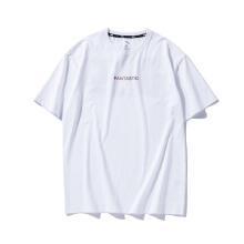 男T恤秋冬新款宽版潮流大字母短袖T恤夏学生宽松T恤
