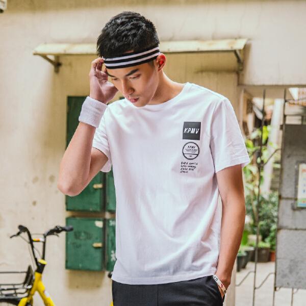 安踏 生活系列 男子短袖针织衫-95828116