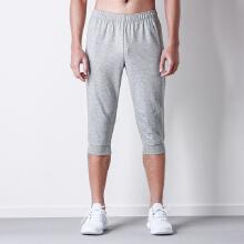 男装运动短裤2019新款针织吸湿排汗跑步休闲运动裤七分裤