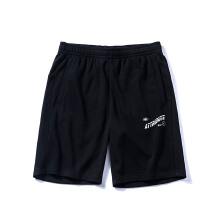 五分裤2019春夏新款潮流简约透气运动裤男子透气五分短裤