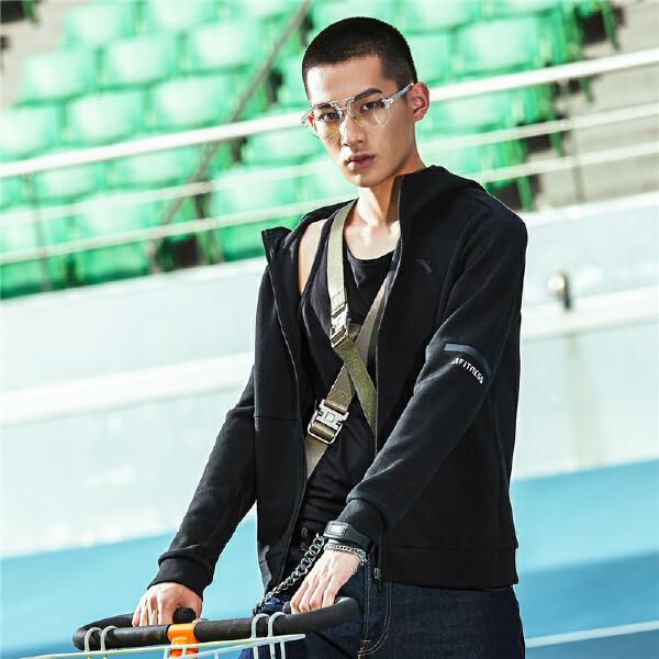 安踏 综训系列 男子针织运动上衣-95837702