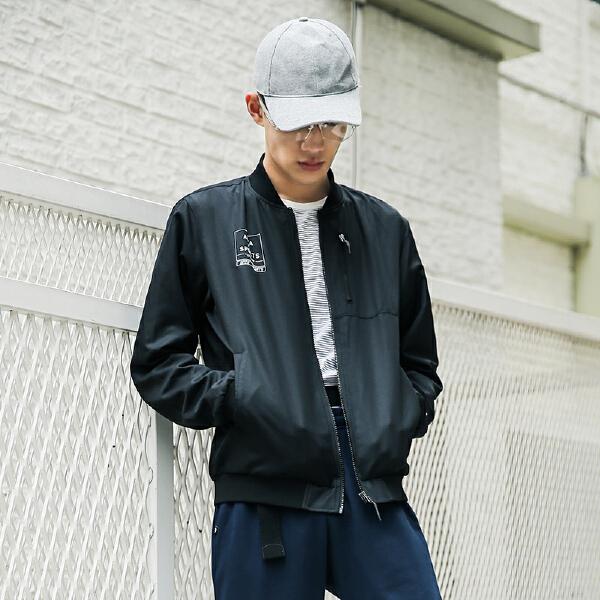 安踏 生活系列 男子梭织薄外套-95838644