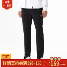 运动裤男2019春季新款梭织字母款修身保暖加绒长裤