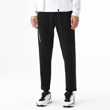 运动加绒裤男冬季新款保暖修身运动平口小脚针织长裤子