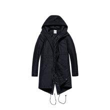 运动外套2019春季新款男子运动中长款保暖棉服外套