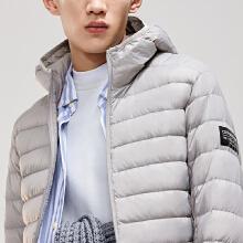 男装羽绒服冬季新款短款连帽运动保暖轻薄羽绒服外套