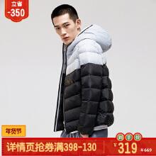 男装羽绒服冬季新款连帽保暖轻薄运动羽绒服外套