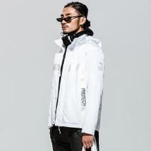 设计师款秋冬新款白色运动外套男潮ANTAXRICOLEE