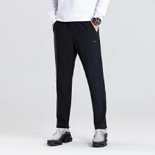 运不由低�感�@动长裤男2019春夏季新款学生梭织运动休闲直筒长裤