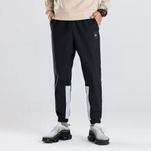 时尚休闲收口梭织运动长裤男